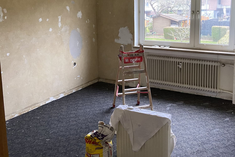 Zimmer Vorher
