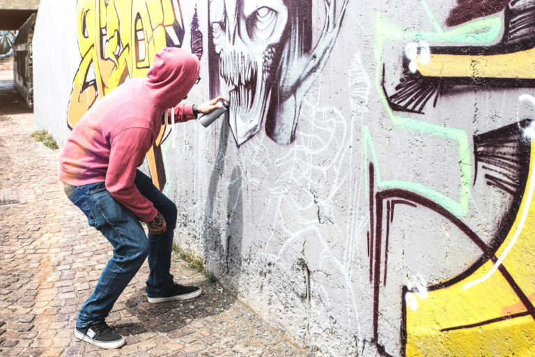 Graffitientfernung Kassel