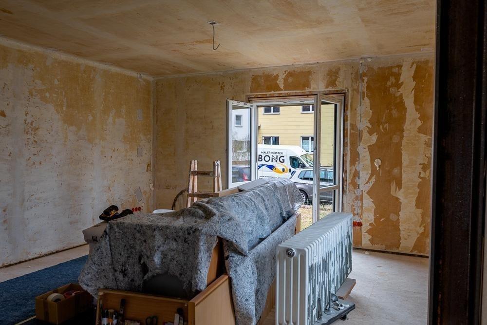 Malerarbeiten Innen - Vorher