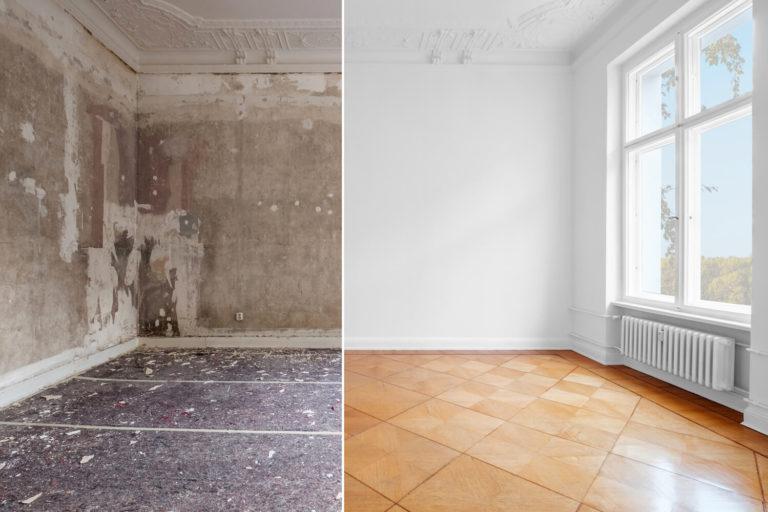 Renovierungsarbeiten und Wohnungsrenovierung