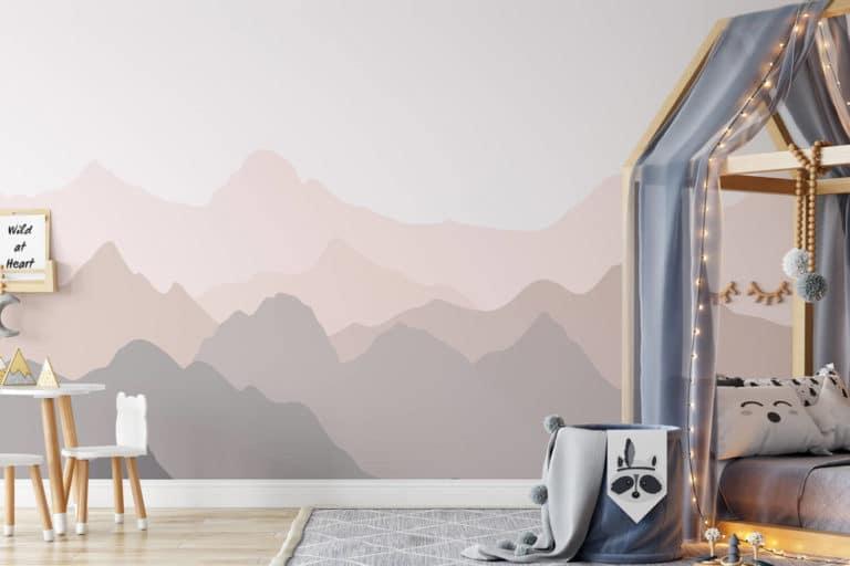 Kreative Wandgestaltung Kinderzimmer